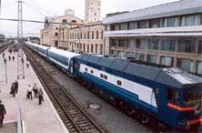 Скоростной поезд 'Столичный экспресс'